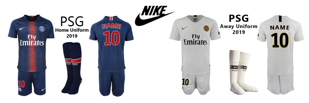 PSG uniforms 2019